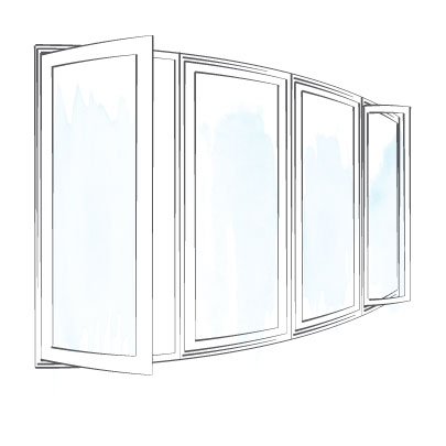 window casement bow