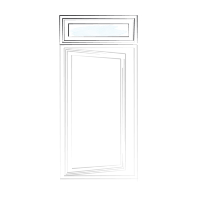 window casement transom
