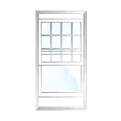 window doublehung majesta