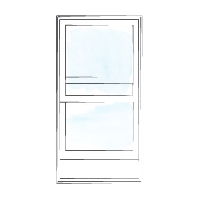 window singlehung traditional