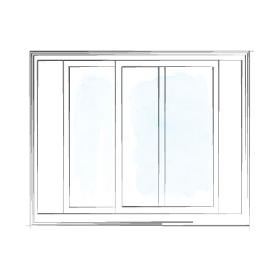 window sliding double